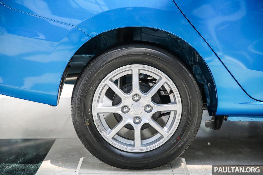 Perodua Bezza – senarai elemen varian demi varian Image #519966