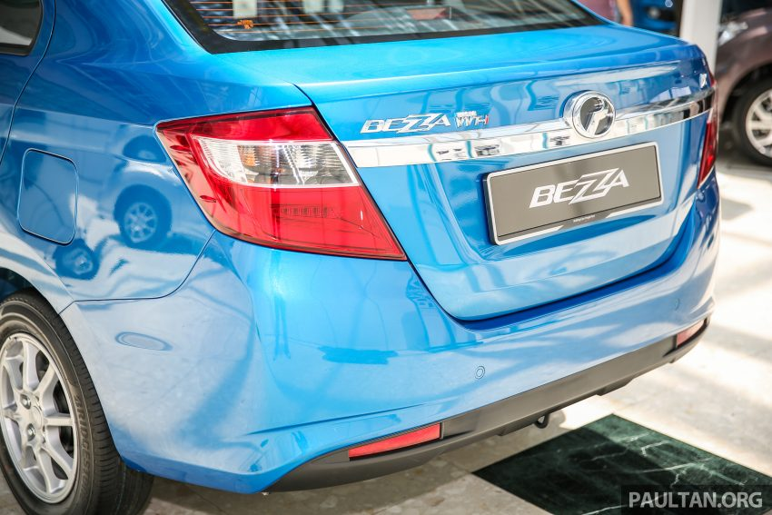 Perodua Bezza – senarai elemen varian demi varian Image #519970