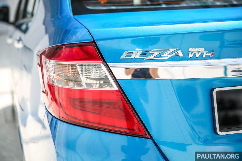 Perodua Bezza dilancarkan, enjin 1.0L VVT-i dan 1.3L Dual VVT-i, harga bermula dari RM37K hingga RM51K Image #522524