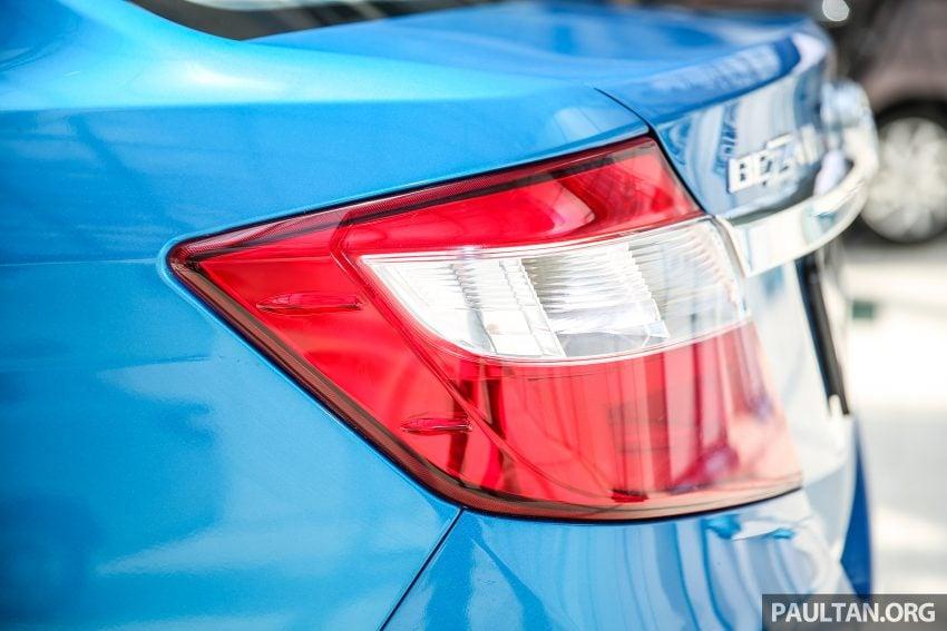 Perodua Bezza dilancarkan, enjin 1.0L VVT-i dan 1.3L Dual VVT-i, harga bermula dari RM37K hingga RM51K Image #522525