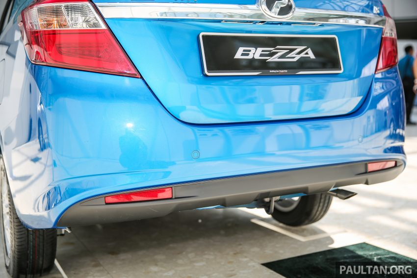 Perodua Bezza – senarai elemen varian demi varian Image #519978