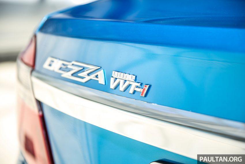 Perodua Bezza – senarai elemen varian demi varian Image #519982