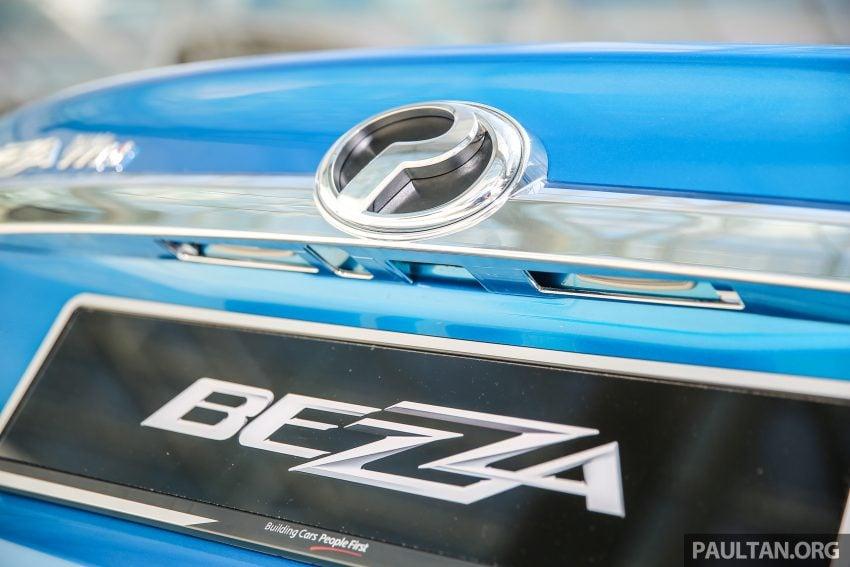 Perodua Bezza – senarai elemen varian demi varian Image #519984
