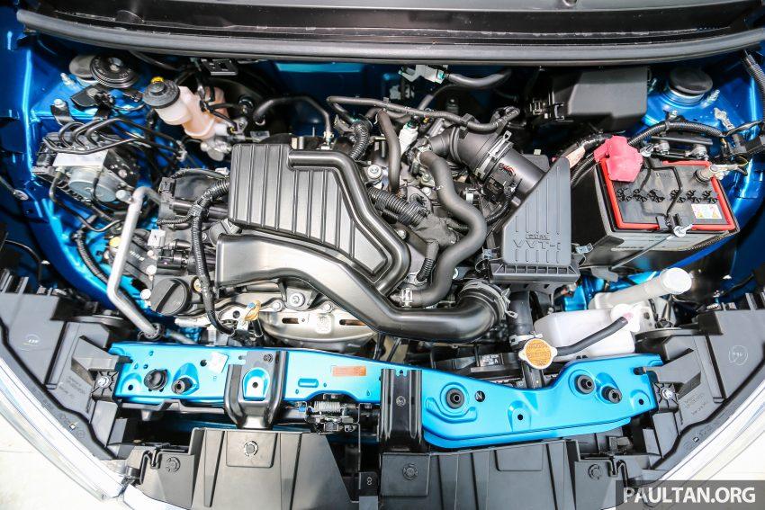 Perodua Bezza dilancarkan, enjin 1.0L VVT-i dan 1.3L Dual VVT-i, harga bermula dari RM37K hingga RM51K Image #522531
