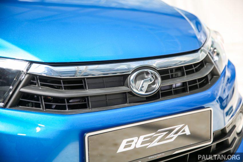 Perodua Bezza dilancarkan, enjin 1.0L VVT-i dan 1.3L Dual VVT-i, harga bermula dari RM37K hingga RM51K Image #522513