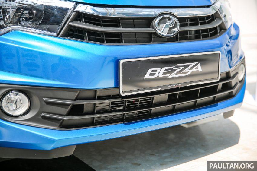 Perodua Bezza – senarai elemen varian demi varian Image #519956