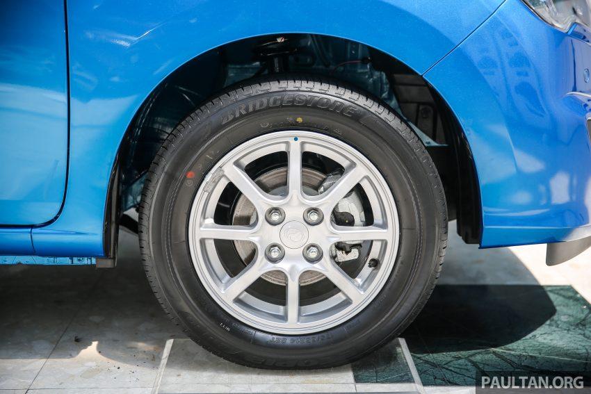 Perodua Bezza – senarai elemen varian demi varian Image #519959