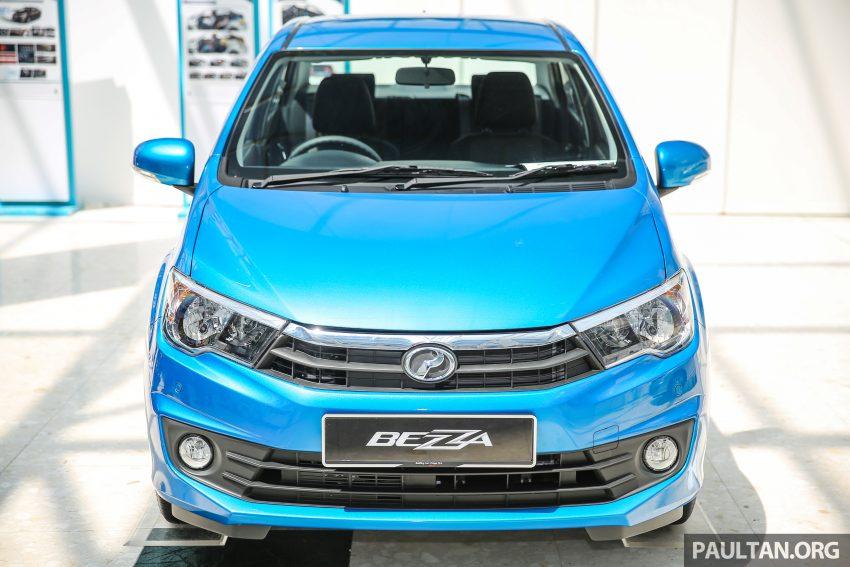 Perodua Bezza dilancarkan, enjin 1.0L VVT-i dan 1.3L Dual VVT-i, harga bermula dari RM37K hingga RM51K Image #522533
