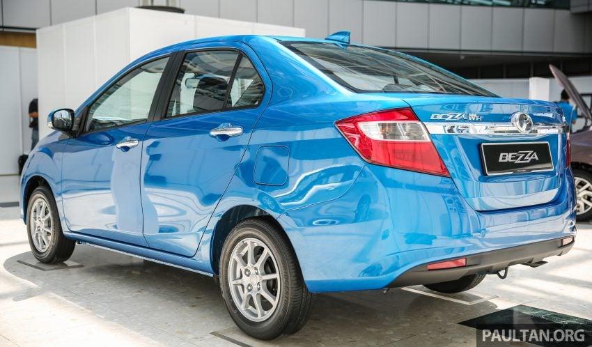 Perodua Bezza dilancarkan, enjin 1.0L VVT-i dan 1.3L Dual VVT-i, harga bermula dari RM37K hingga RM51K Image #522542