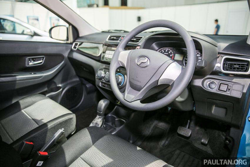 Perodua Bezza dilancarkan, enjin 1.0L VVT-i dan 1.3L Dual VVT-i, harga bermula dari RM37K hingga RM51K Image #522543
