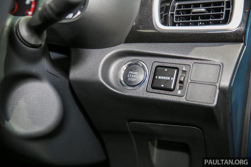 Perodua Bezza – senarai elemen varian demi varian Image #520001