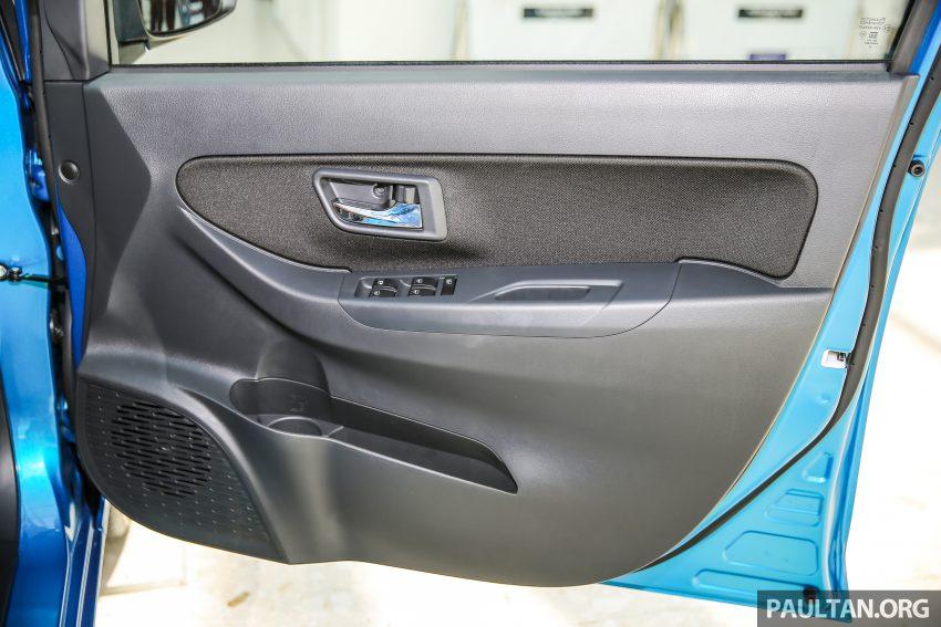Perodua Bezza – senarai elemen varian demi varian Image #520007