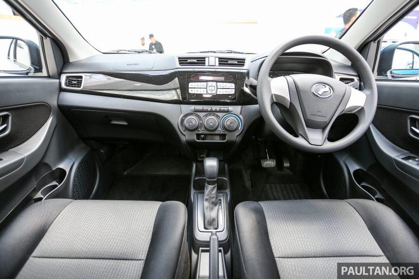 Perodua Bezza – senarai elemen varian demi varian Image #520020