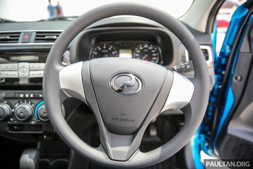 Perodua Bezza – senarai elemen varian demi varian Image #519990
