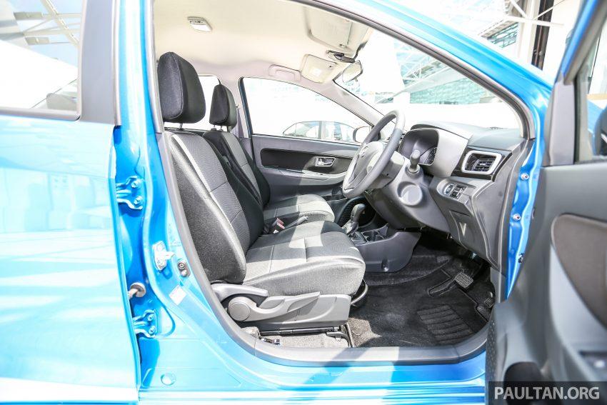 Perodua Bezza – senarai elemen varian demi varian Image #520026