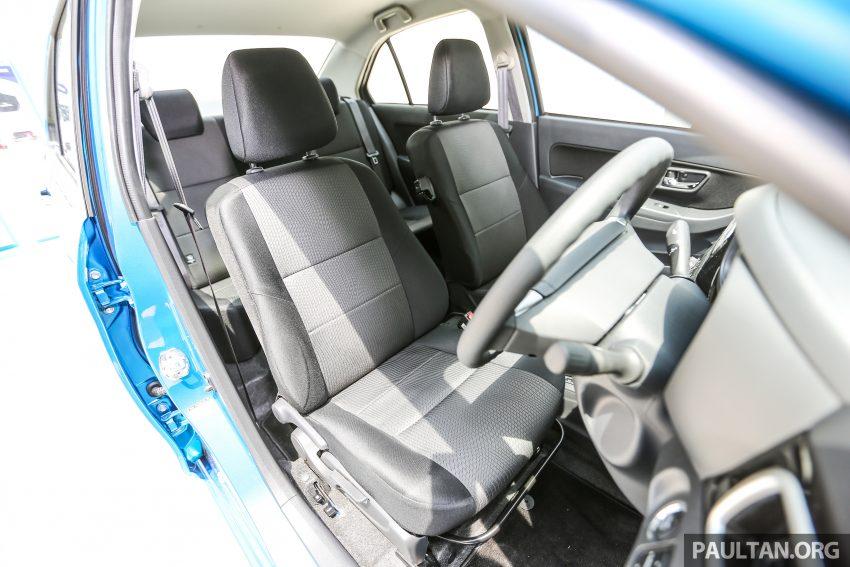Perodua Bezza dilancarkan, enjin 1.0L VVT-i dan 1.3L Dual VVT-i, harga bermula dari RM37K hingga RM51K Image #522567