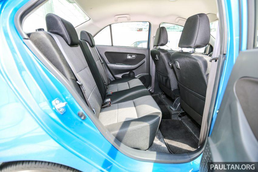 Perodua Bezza dilancarkan, enjin 1.0L VVT-i dan 1.3L Dual VVT-i, harga bermula dari RM37K hingga RM51K Image #522569