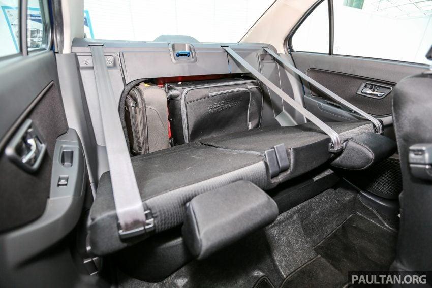 Perodua Bezza – senarai elemen varian demi varian Image #520036