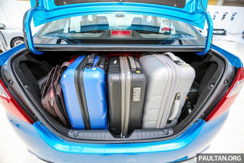 Perodua Bezza – senarai elemen varian demi varian Image #520038