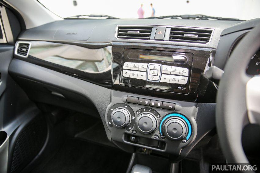 Perodua Bezza – senarai elemen varian demi varian Image #519992