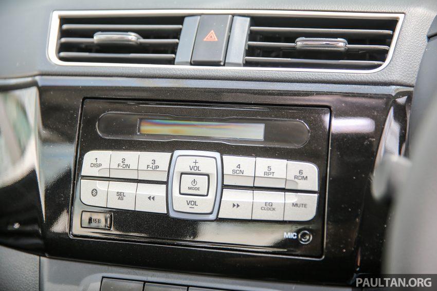 Perodua Bezza – senarai elemen varian demi varian Image #519993