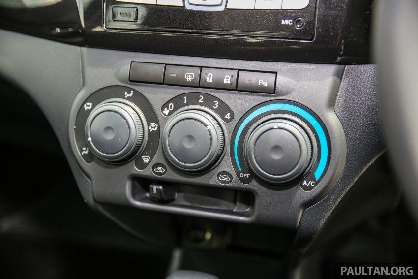 Perodua Bezza – senarai elemen varian demi varian Image #519994