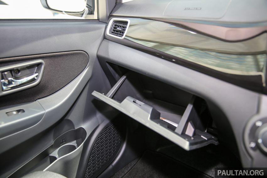 Perodua Bezza – senarai elemen varian demi varian Image #520000