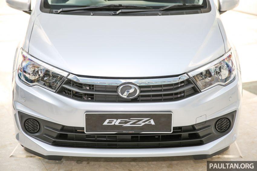 Perodua Bezza – senarai elemen varian demi varian Image #520066