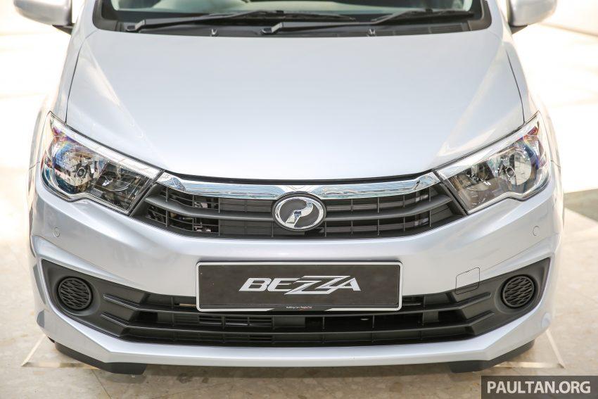 Perodua Bezza dilancarkan, enjin 1.0L VVT-i dan 1.3L Dual VVT-i, harga bermula dari RM37K hingga RM51K Image #522438