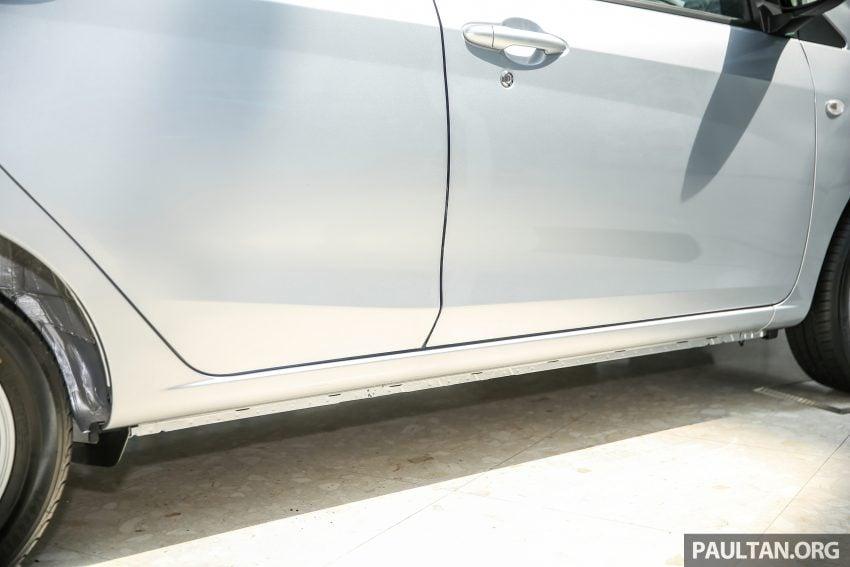 Perodua Bezza dilancarkan, enjin 1.0L VVT-i dan 1.3L Dual VVT-i, harga bermula dari RM37K hingga RM51K Image #522452