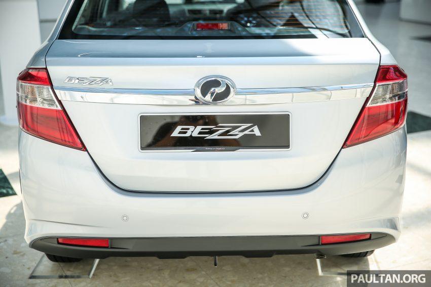 Perodua Bezza dilancarkan, enjin 1.0L VVT-i dan 1.3L Dual VVT-i, harga bermula dari RM37K hingga RM51K Image #522454