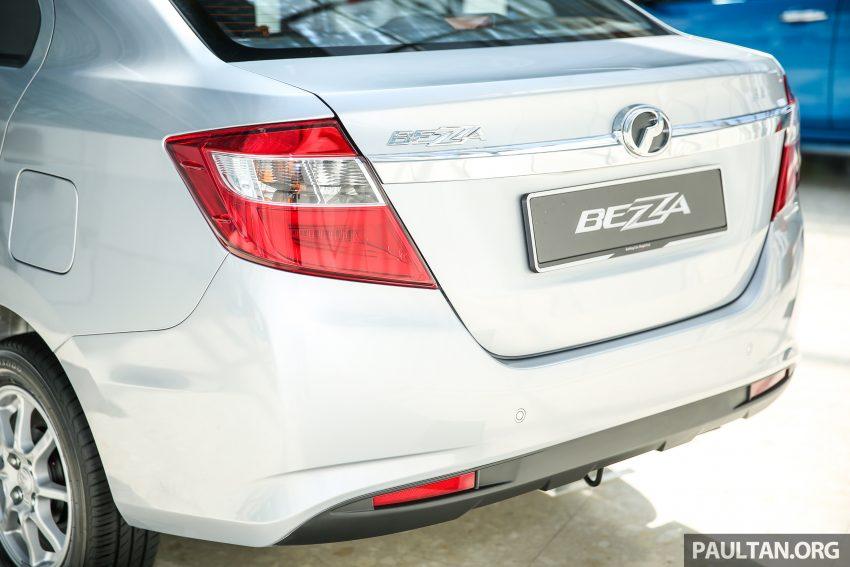 Perodua Bezza – senarai elemen varian demi varian Image #520091