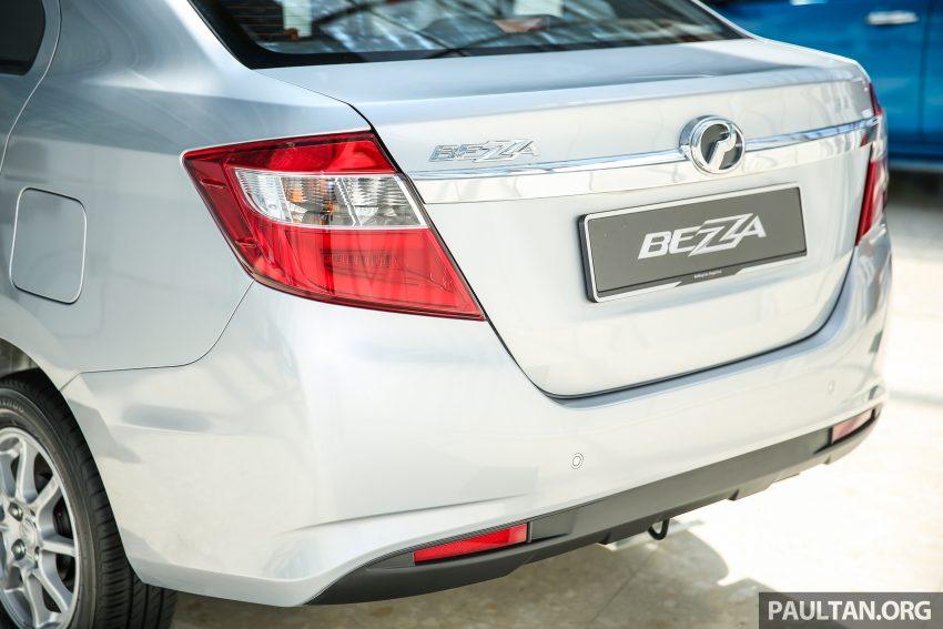 Perodua Bezza dilancarkan, enjin 1.0L VVT-i dan 1.3L Dual VVT-i, harga bermula dari RM37K hingga RM51K Image #522456