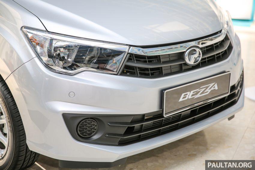 Perodua Bezza dilancarkan, enjin 1.0L VVT-i dan 1.3L Dual VVT-i, harga bermula dari RM37K hingga RM51K Image #522440