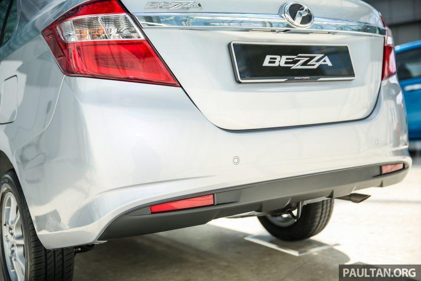 Perodua Bezza dilancarkan, enjin 1.0L VVT-i dan 1.3L Dual VVT-i, harga bermula dari RM37K hingga RM51K Image #522460