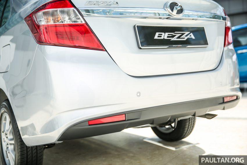Perodua Bezza – senarai elemen varian demi varian Image #520096