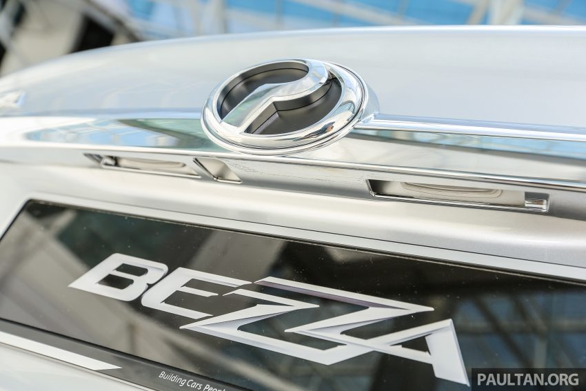 Perodua Bezza dilancarkan, enjin 1.0L VVT-i dan 1.3L Dual VVT-i, harga bermula dari RM37K hingga RM51K Image #522463