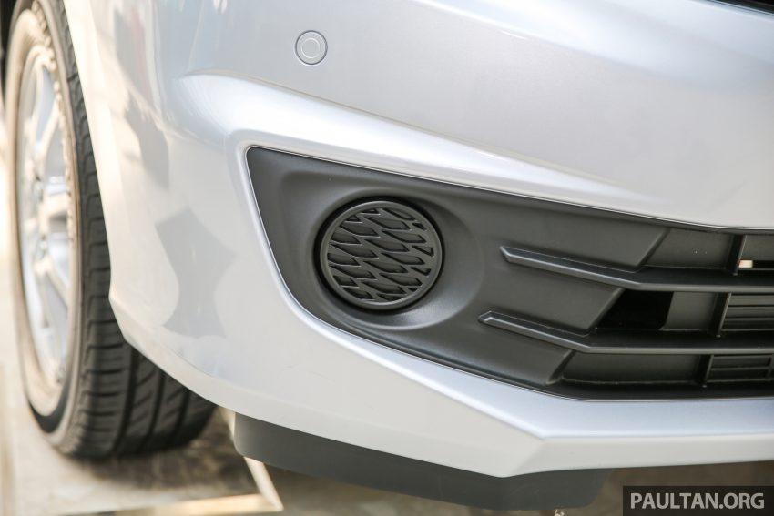 Perodua Bezza – senarai elemen varian demi varian Image #520079