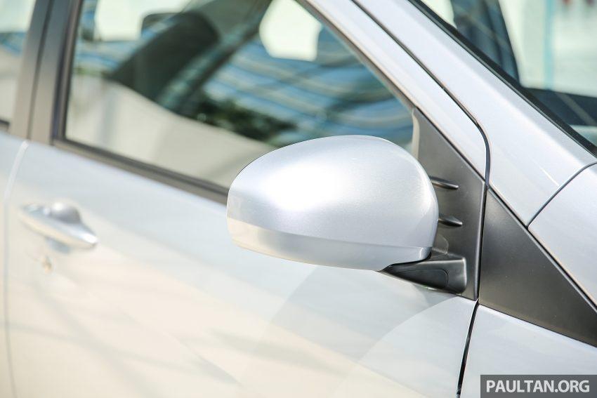 Perodua Bezza – senarai elemen varian demi varian Image #520082
