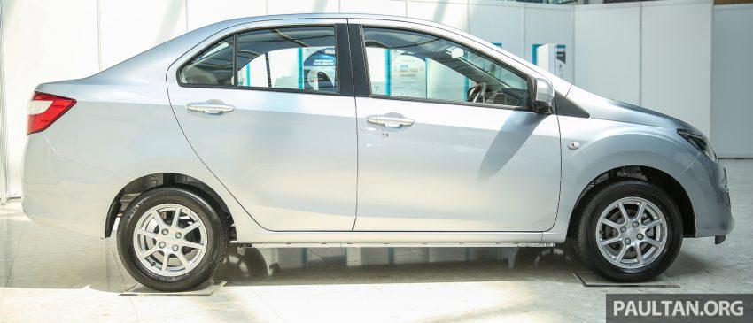 Perodua Bezza dilancarkan, enjin 1.0L VVT-i dan 1.3L Dual VVT-i, harga bermula dari RM37K hingga RM51K Image #522468
