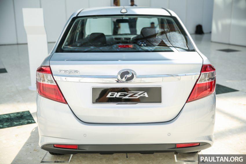 Perodua Bezza dilancarkan, enjin 1.0L VVT-i dan 1.3L Dual VVT-i, harga bermula dari RM37K hingga RM51K Image #522469