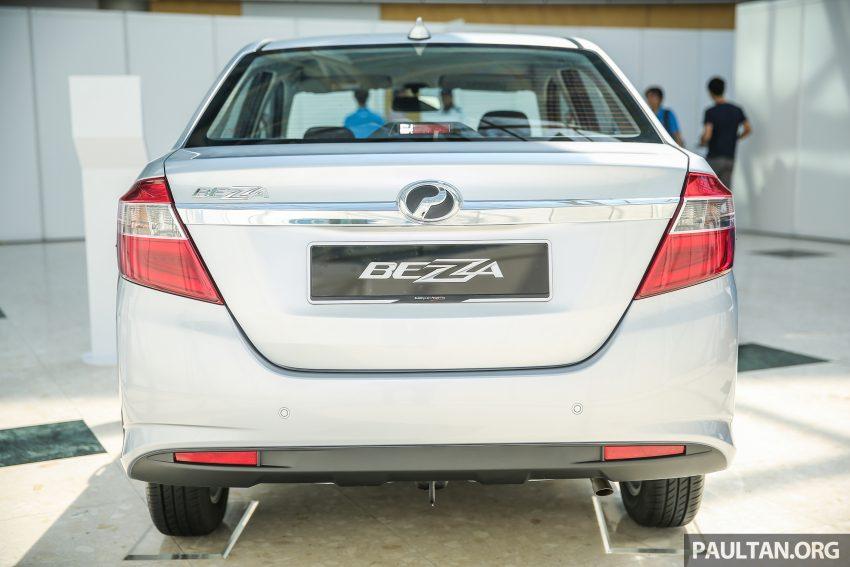 Perodua Bezza dilancarkan, enjin 1.0L VVT-i dan 1.3L Dual VVT-i, harga bermula dari RM37K hingga RM51K Image #522470