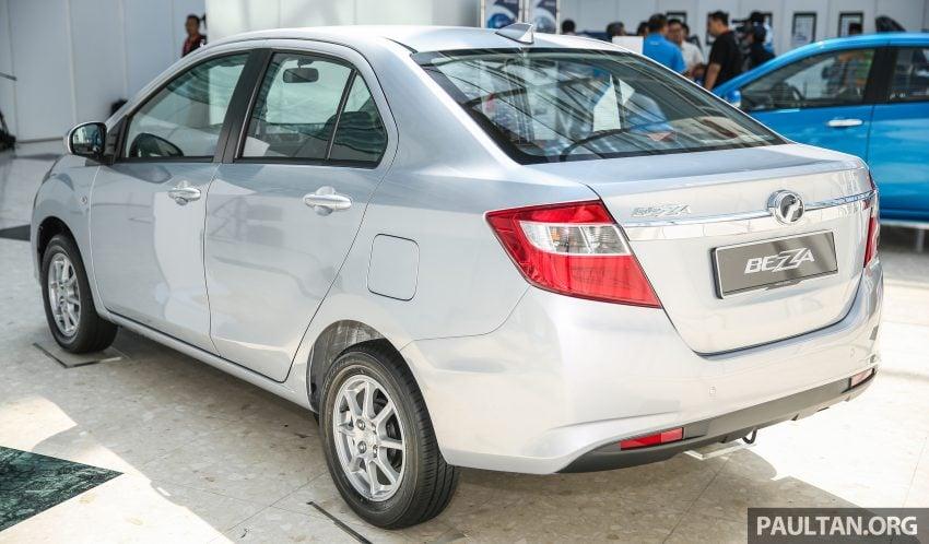 Perodua Bezza dilancarkan, enjin 1.0L VVT-i dan 1.3L Dual VVT-i, harga bermula dari RM37K hingga RM51K Image #522471