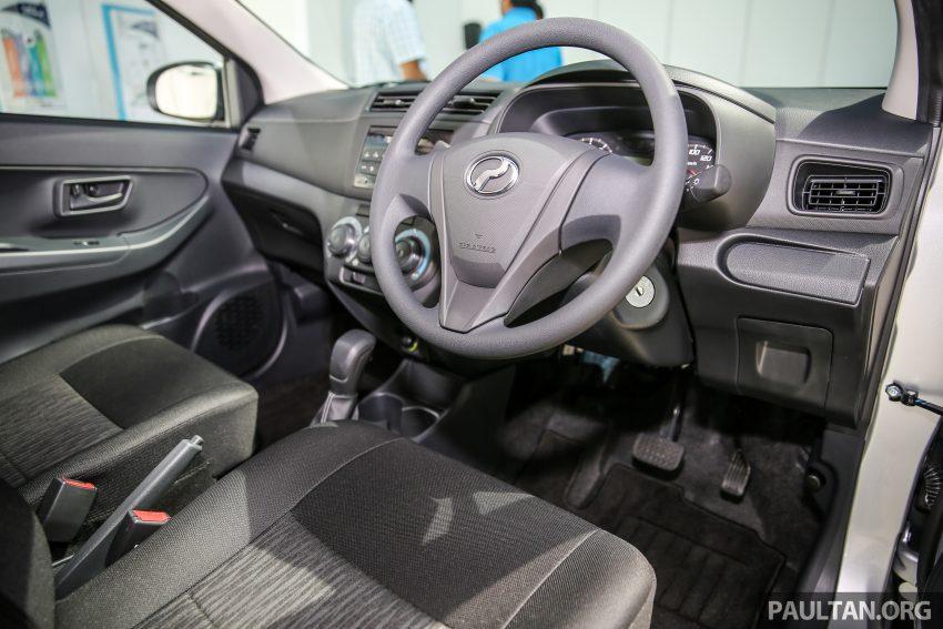 Perodua Bezza – senarai elemen varian demi varian Image #520099