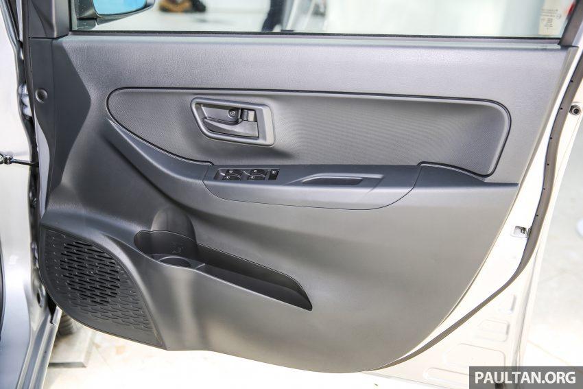 Perodua Bezza – senarai elemen varian demi varian Image #520114