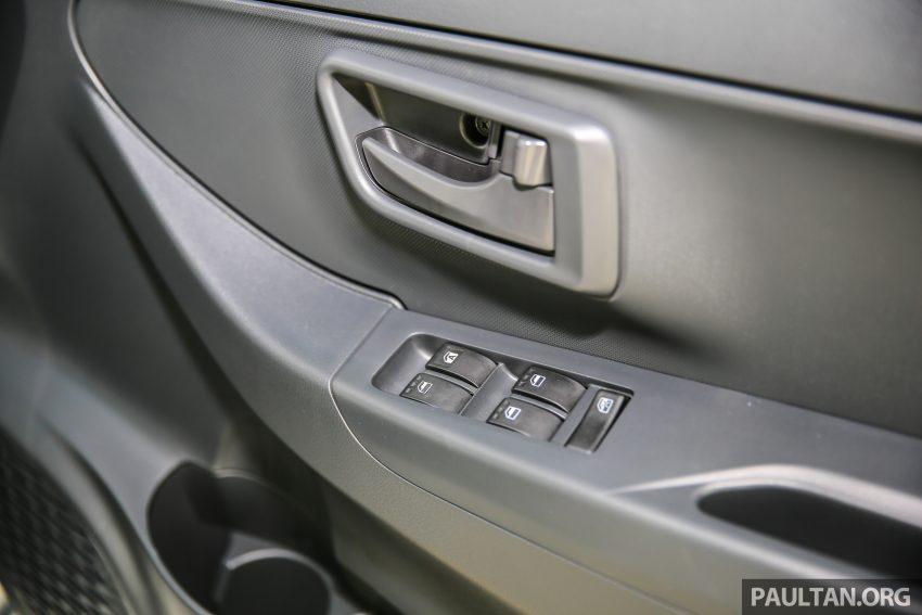 Perodua Bezza – senarai elemen varian demi varian Image #520116