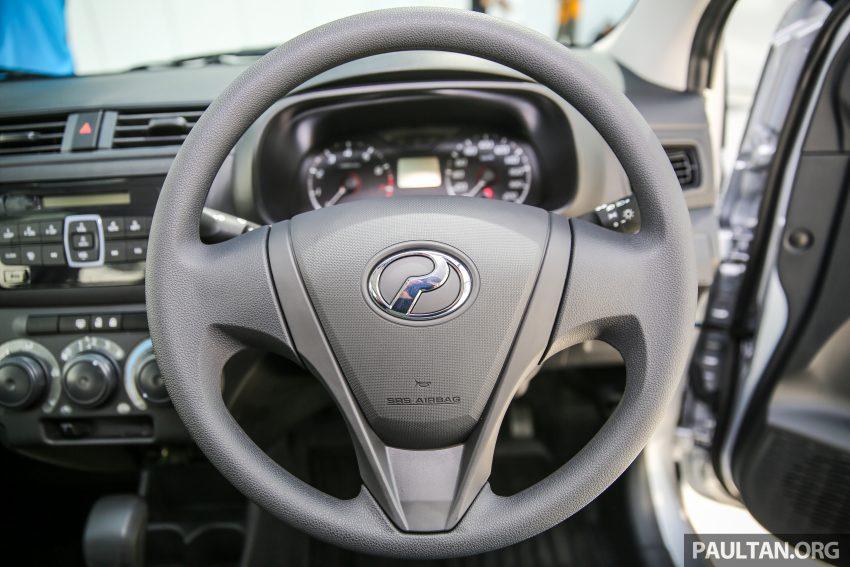 Perodua Bezza – senarai elemen varian demi varian Image #520100
