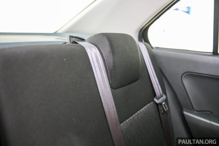 Perodua Bezza – senarai elemen varian demi varian Image #520134