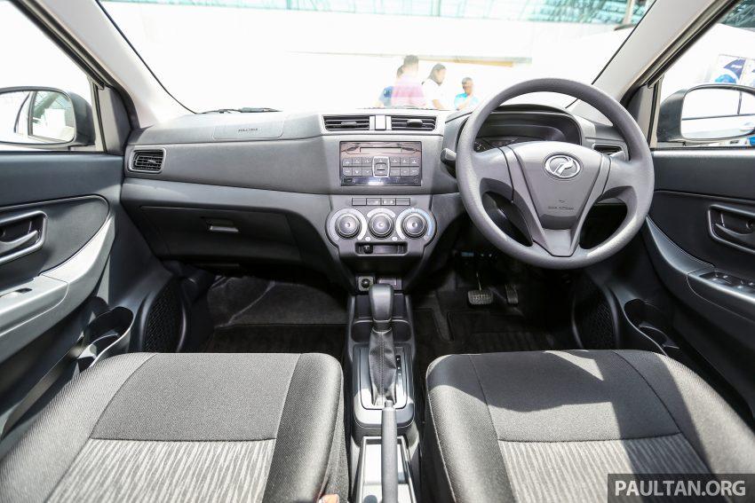 Perodua Bezza – senarai elemen varian demi varian Image #520136