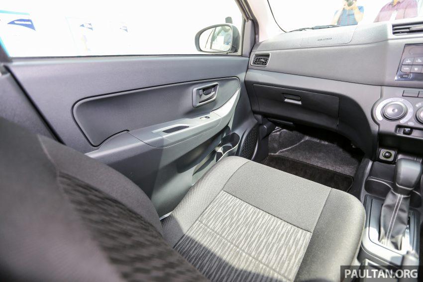 Perodua Bezza – senarai elemen varian demi varian Image #520138